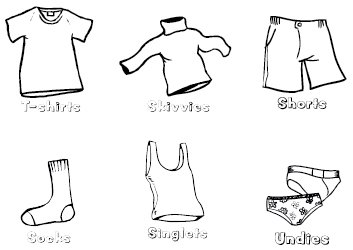 Kids Pants Drawing Fiona's Fab FREE Lippey Labels!