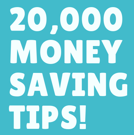 20000+ money saving tips