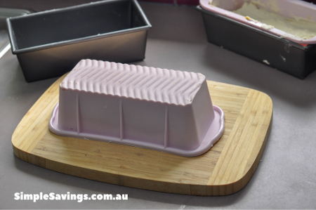 Empty soap from moulds